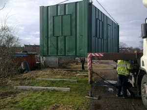 Arrival of the Meeting Place on Tuesday 5th February.